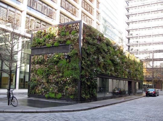 London Green Wall 1