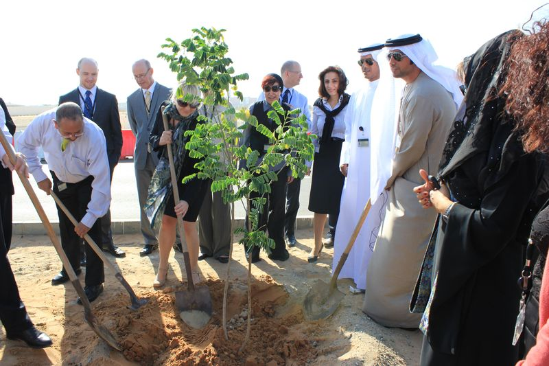 Etihad Airways planting