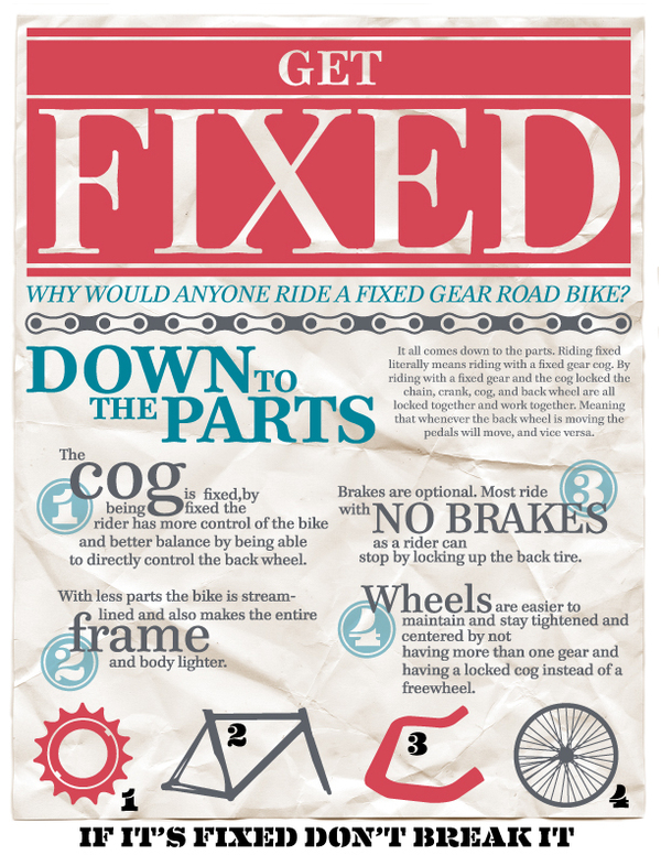 Fixed Gear infographic