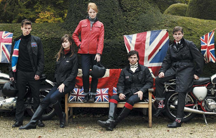 Barbour Fashion Union Jack