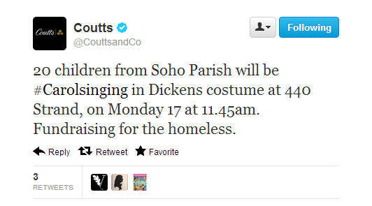 Coutts tweet