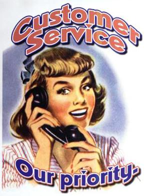 Customer Service Vintage