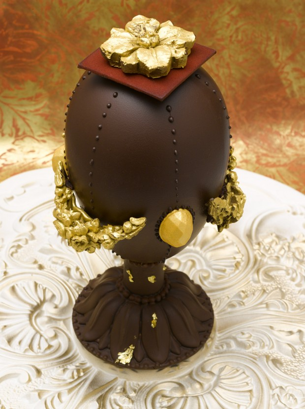 Hermitage Chocolate Egg at Cafe Pouchkine