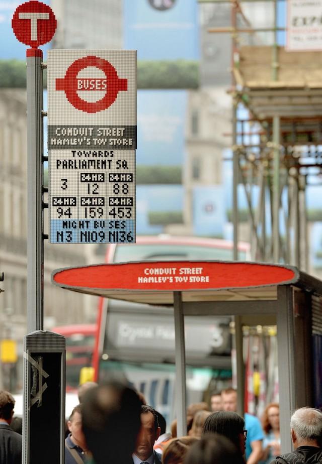Lego Bus Top London