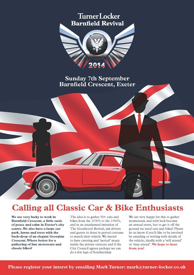 TurnerLocker Classic Car event September 2014