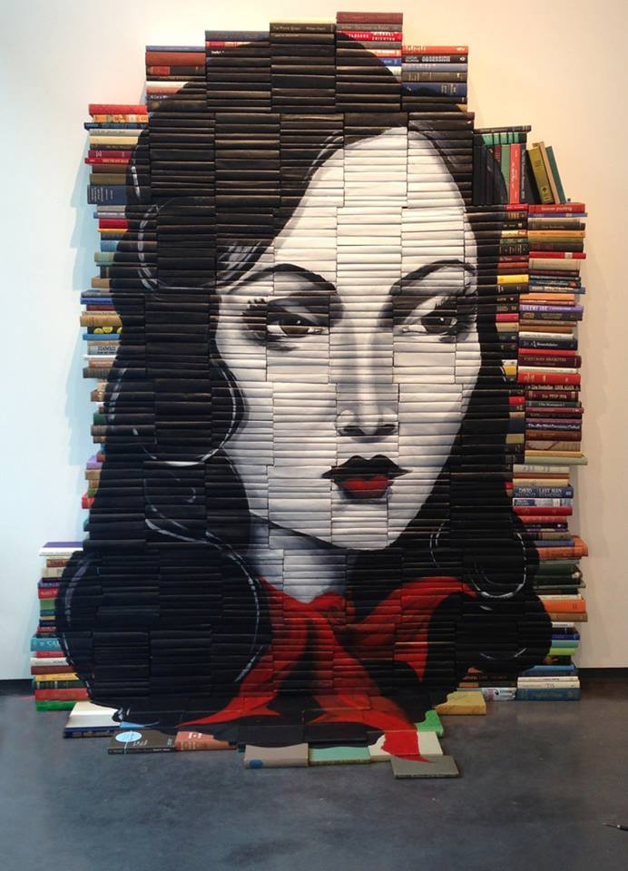 Mike Stilkey books painting