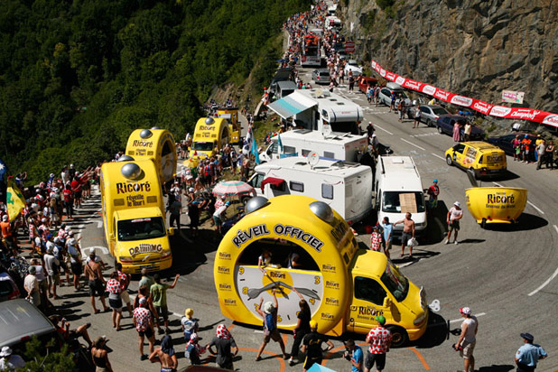 Advertising Caravan Tour de France
