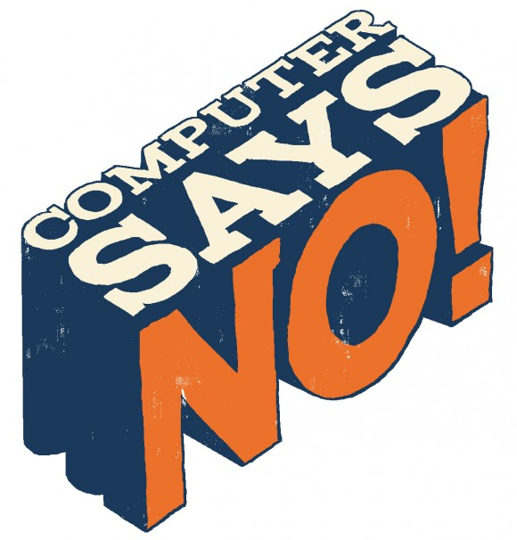 Computer says No - logo