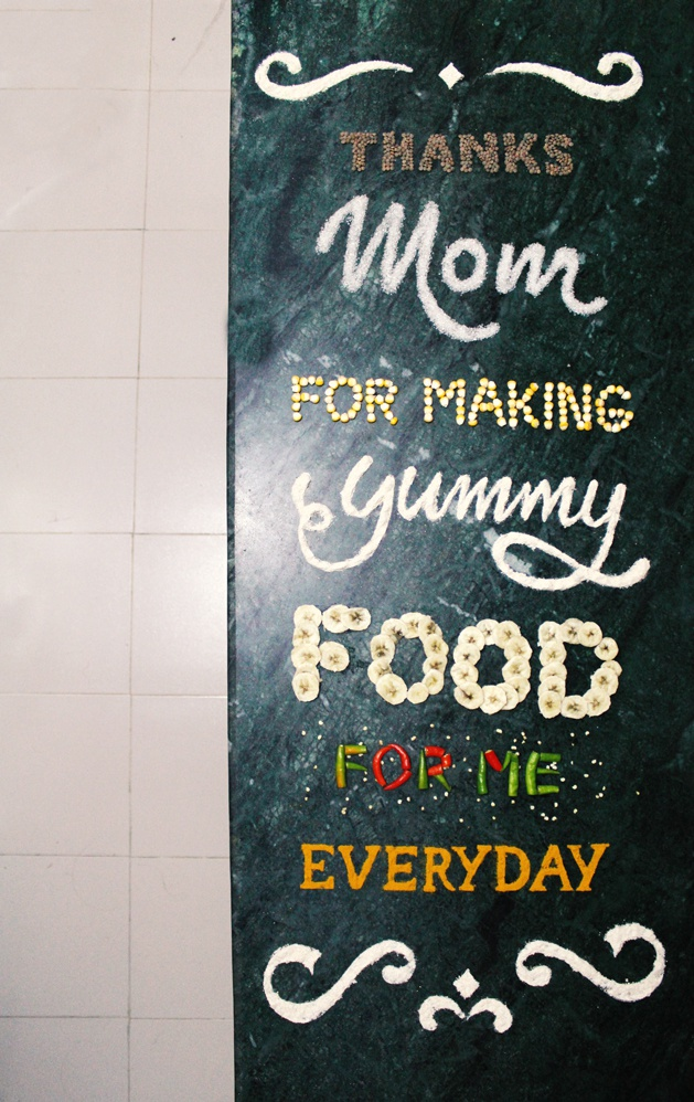 Food lettering - overview