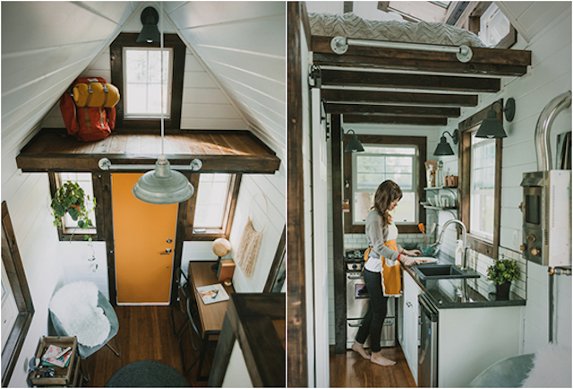 Heirloon mobile home inside view