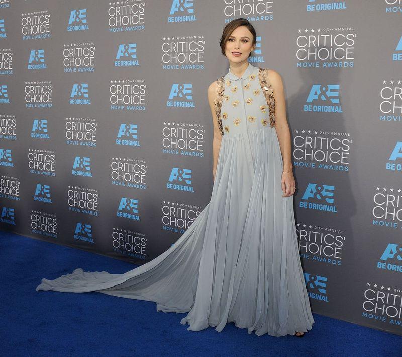 Keira Knightley at Movie Awards