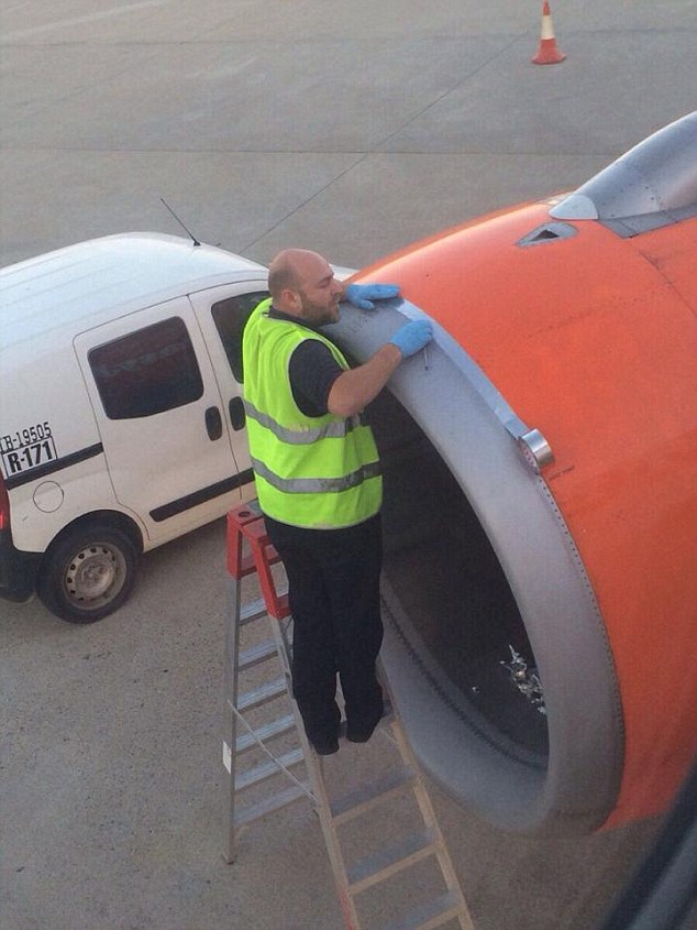 EasyJet duct tape