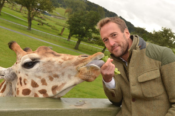Ben Fogle at Longleat