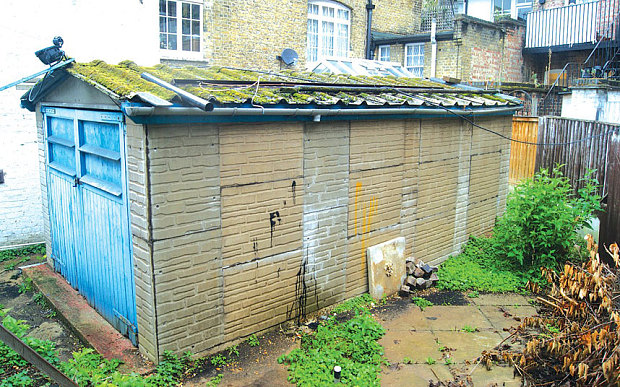 London garage sold for £550000