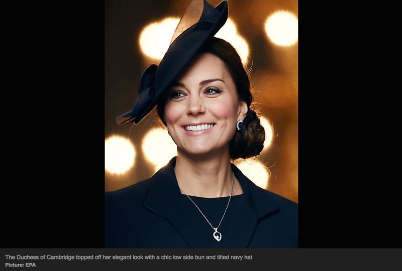 Duchess of Cambridge - elegant and stylish
